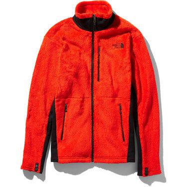 ジップインジップ対応商品のノースフェイスジップインバーサミッドジャケット
